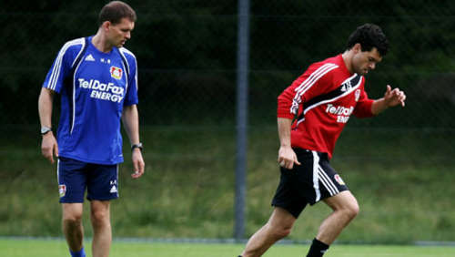 Ballack im Training