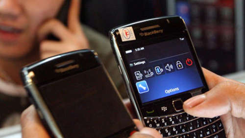Ablauf des Blackberry-Ultimatums in Indien