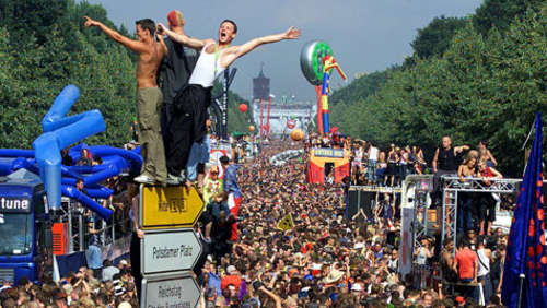 B-parade statt Loveparade in Berlin