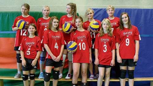 Saisonfinale der Volleyballerinnen