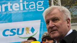 Seehofer attackiert Journalisten