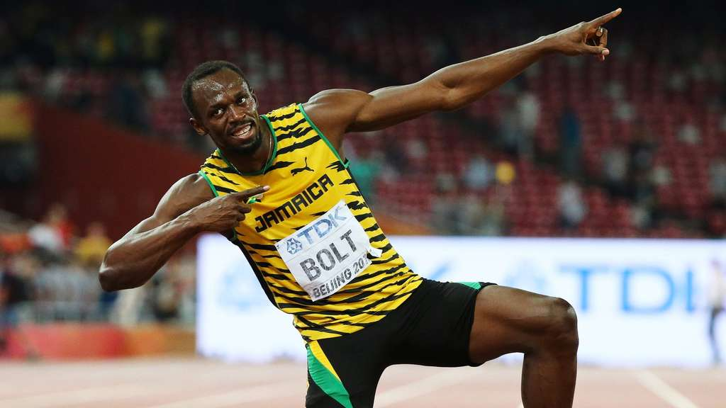 Leichtathletik Wm Bolt