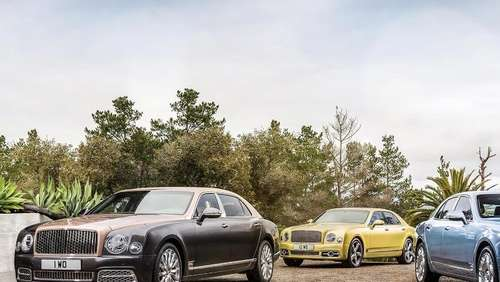 Bentley bringt Mulsanne in drei Versionen nach Genf