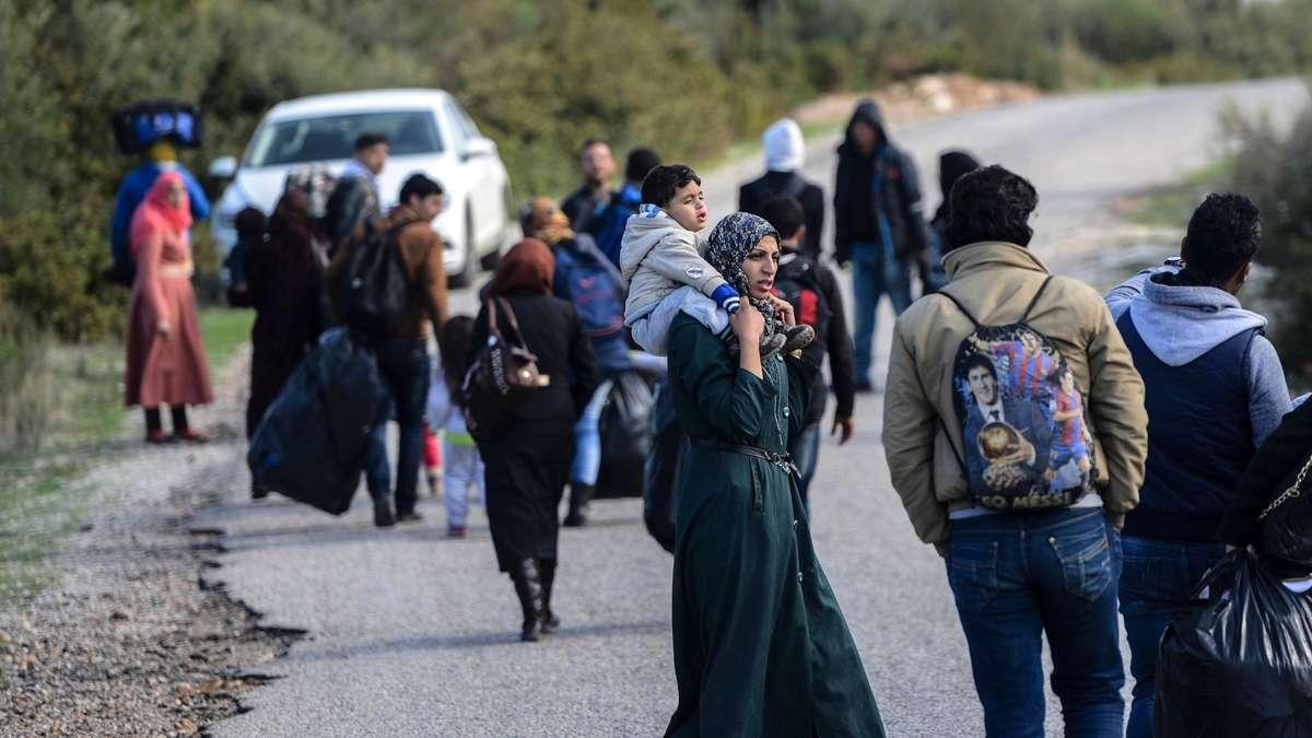 Syrische Flüchtlinge Nrw