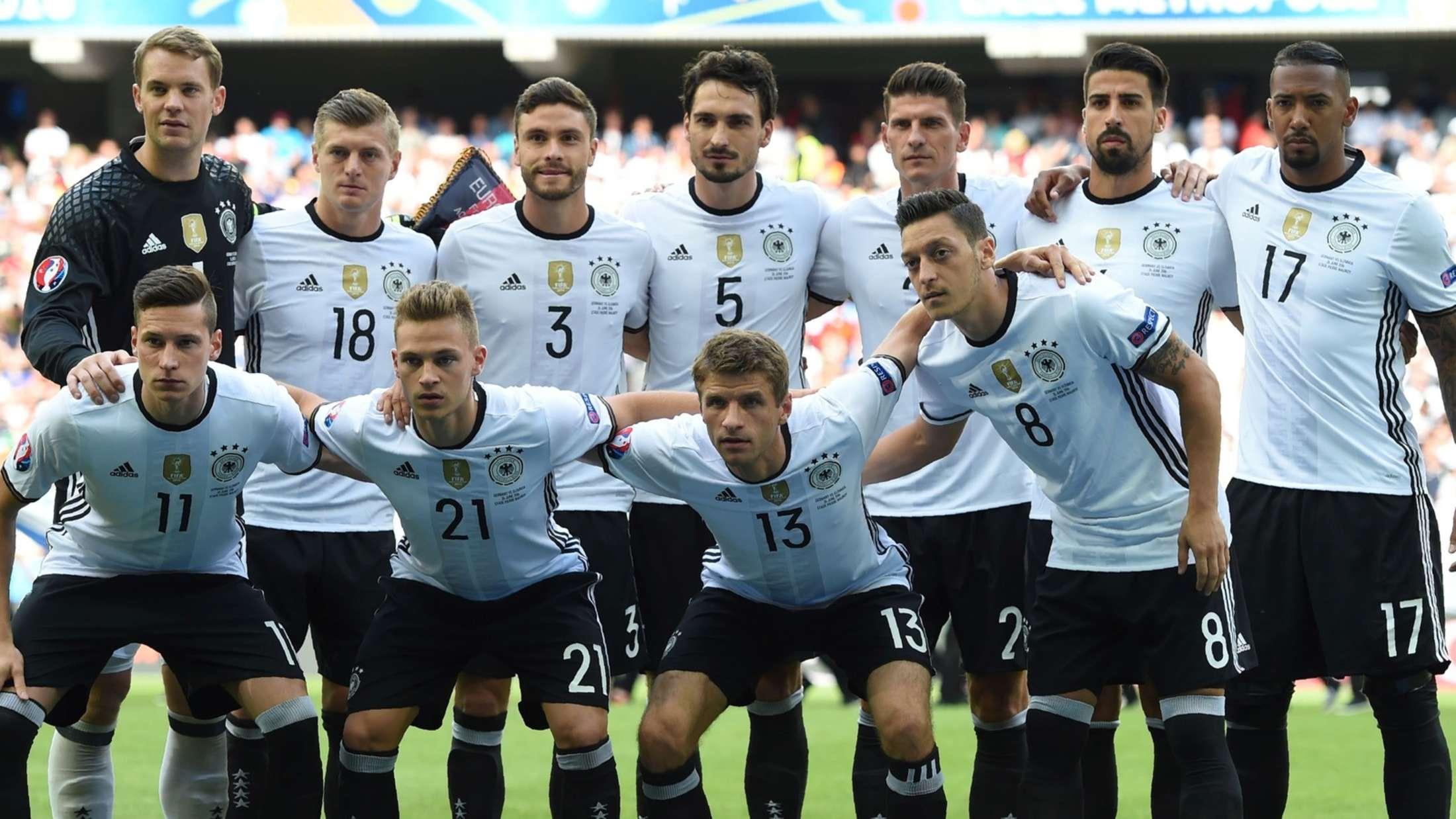 Aufstellung Deutschland Em
