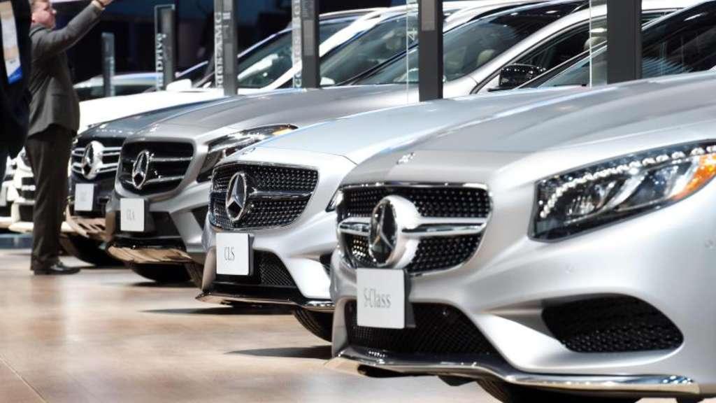 Aktie Mercedes Benz