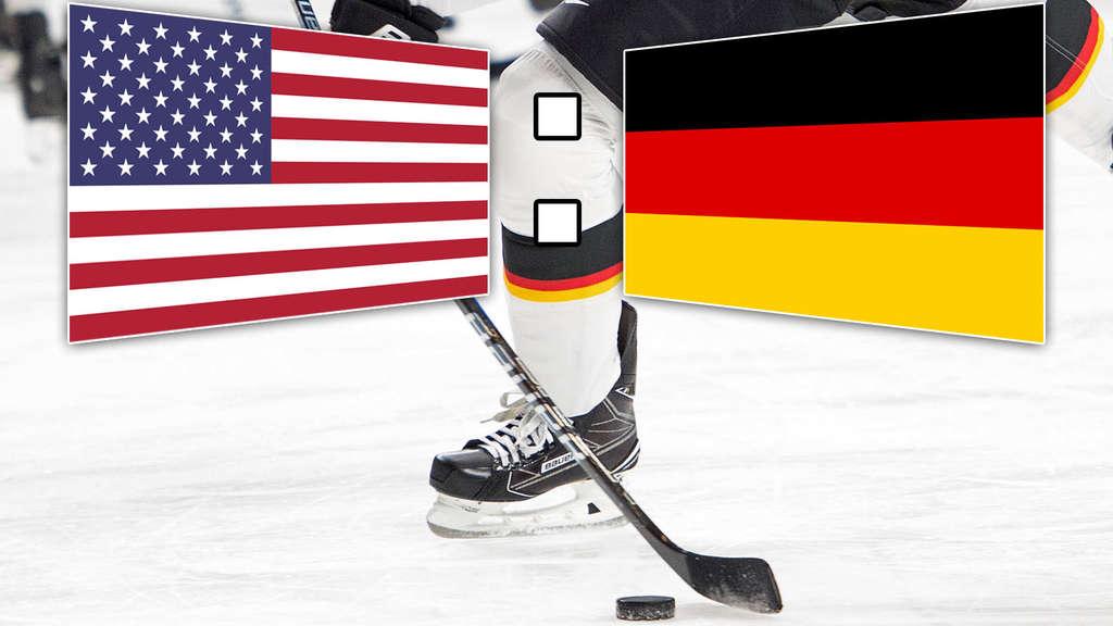 deutschland gegen usa eishockey