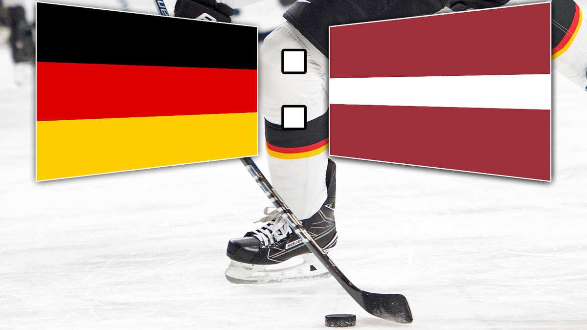 Eishockey Deutschland Lettland