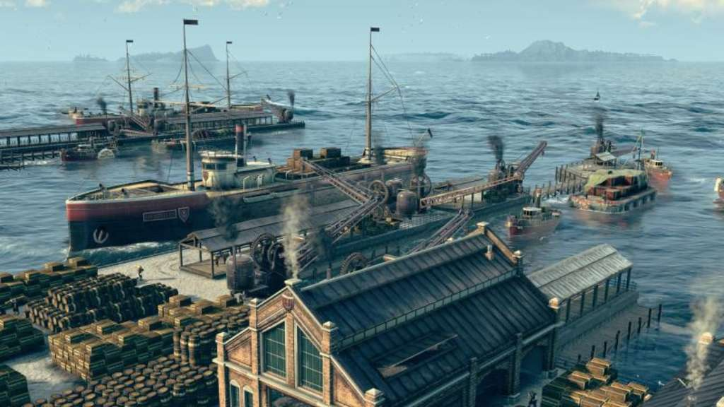 "Ein Screenshot des Computerspiels ""Anno 1800"". Foto: Ubisoft"