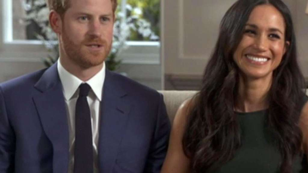Prinz Harry und Meghan Markle beim Interview.