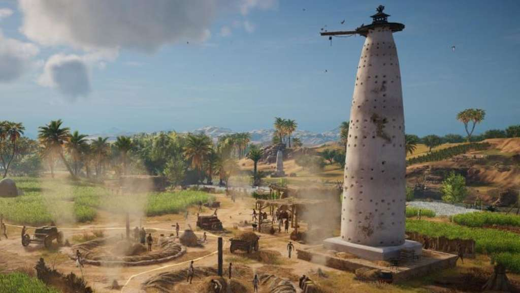 "Szene aus dem Computerspiel ""Assassin&#39s Creed Origins"". Foto: Ubisoft"