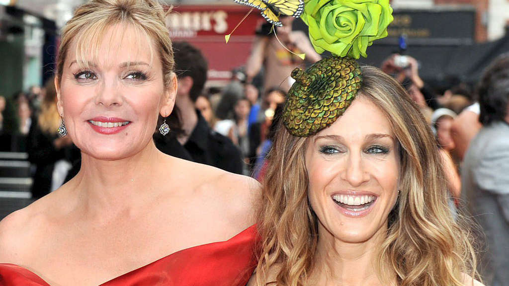 Sex and the City Kim Cattrall und Sarah Jessica Parker