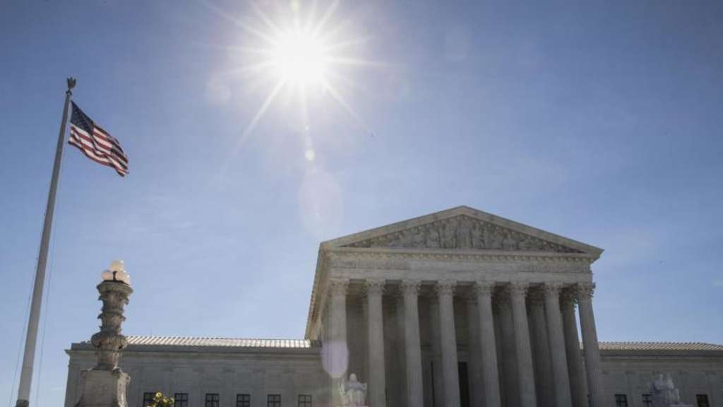 Der Supreme Court in Washington. Foto: J. Scott Applewhite/AP