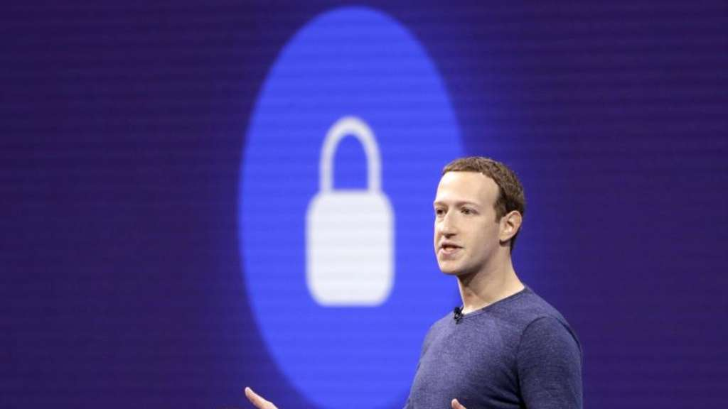 Facebook-Chef Mark Zuckerberg geht in die Offensive. Foto: Marcio Jose Sanchez/AP