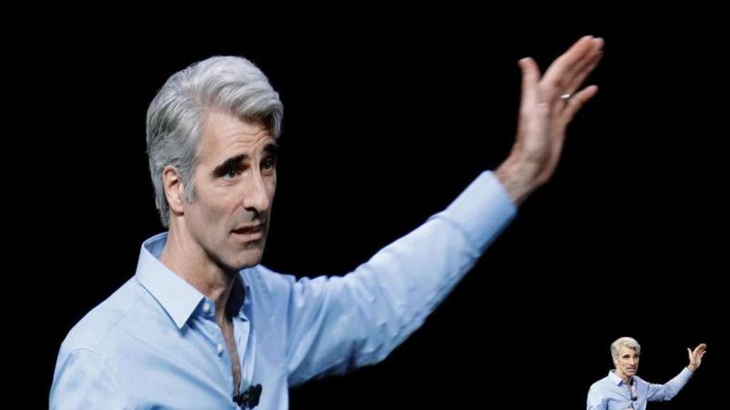 Apples Software-Chef Craig Federighi. Foto: Marcio Jose Sanchez/AP