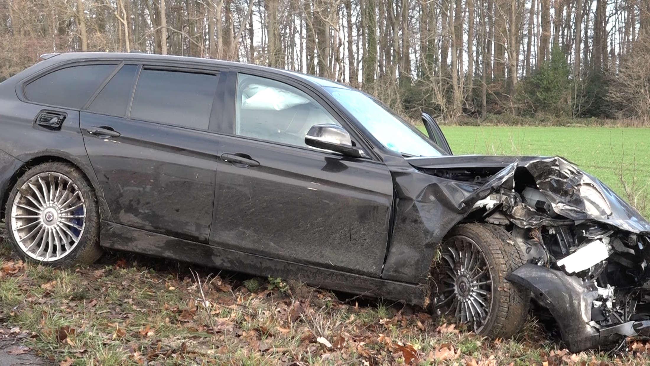 Nach Unfall bei Lichtenau ist B68 in beide Richtungen