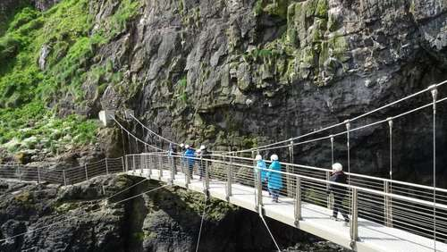 Nordirlands Klippenpfad The Gobbins