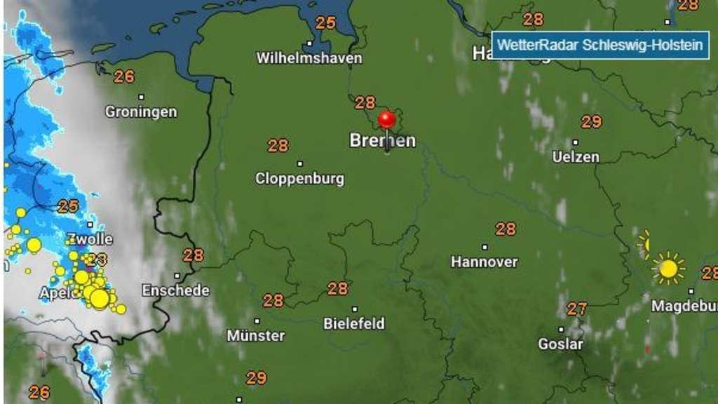 Gewitter Niedersachsen