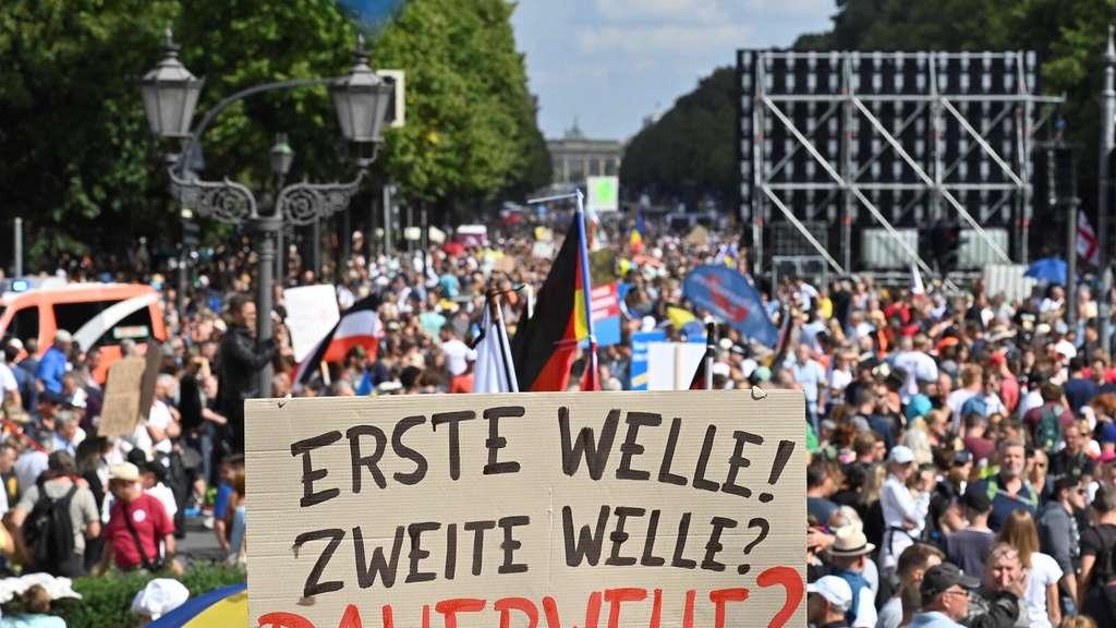 Teilnehmer Demo Berlin