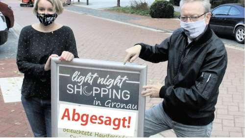 Gronauer Light-Night-Shopping abgesagt