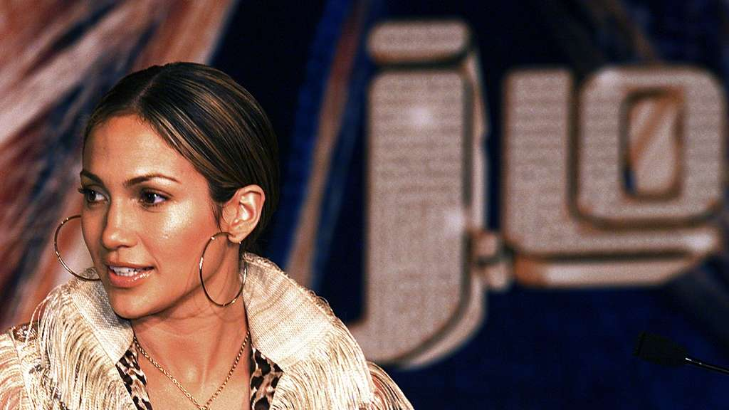 "Jennifer Lopez promotet 2001 ihr neues Album ""J.Lo"" in Hong Kong."